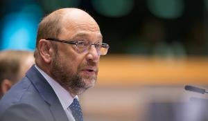 Martin Schulz przemawia na otwarciu sesji plenarnej