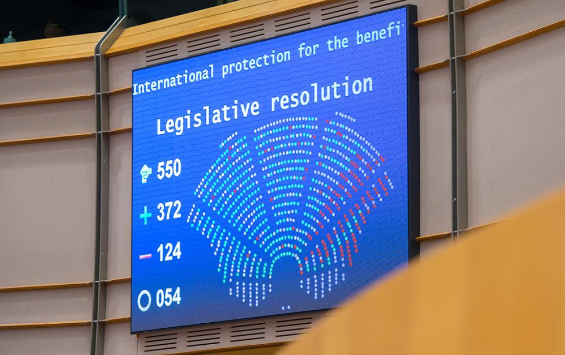 Vote on reallocation of migrants