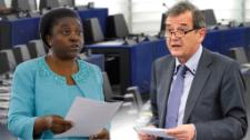 Cécile Kashetu Kyenge (S&D) and Marian-Jean Marinescu (EPP) agree summit marked rare solidarity, but call for action to resolve the conflicts driving migration.