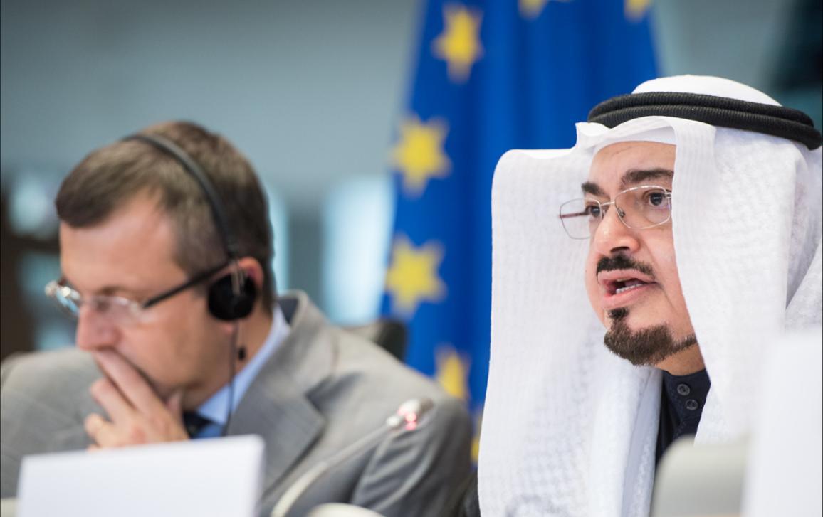Debate with Deputy Speaker of Saudi Arabia's Consultative Assembly, Mohammed bin Amin Al-Jefri, in AFET