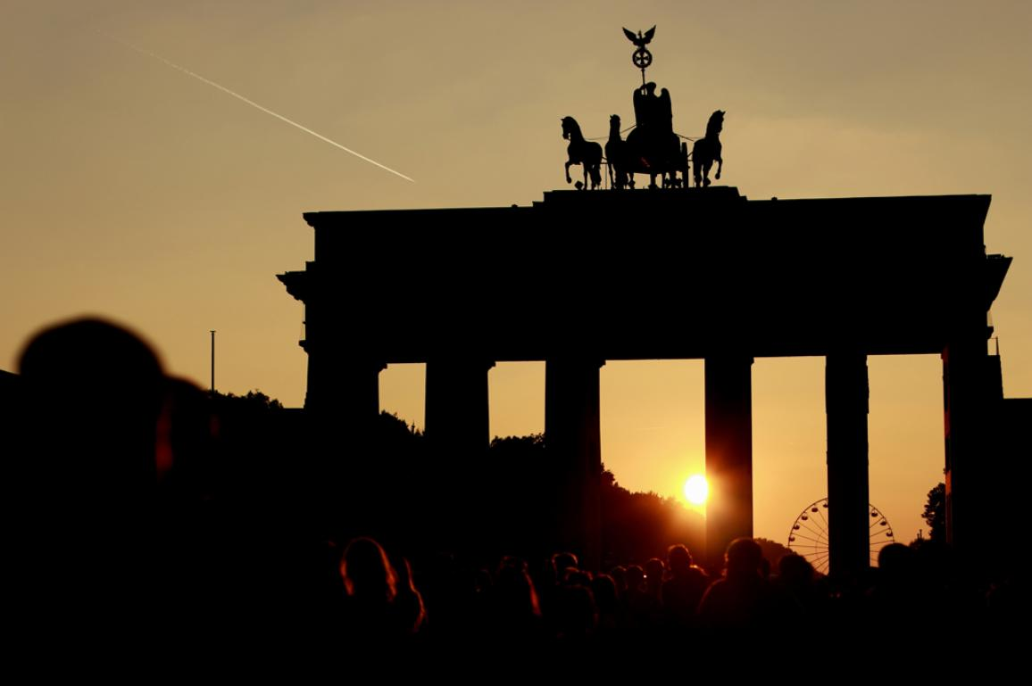 Illustration photo of the German reunification ©AP Images/European Parliament