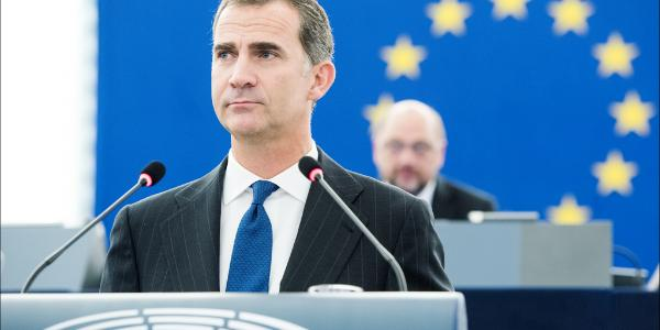 Felipe VI of Spain address to the European Parliament_