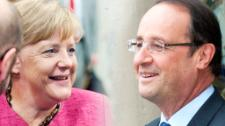 As Hollande and Merkel join forces, they today urged all EU states to follow to tackle the refugee crisis as one and warn against patchwork national responses.