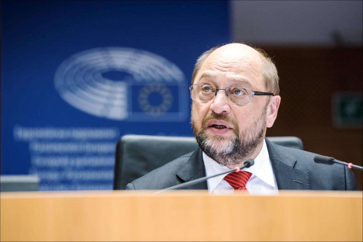 EP President Martin Schulz opens October plenary session in Brussels