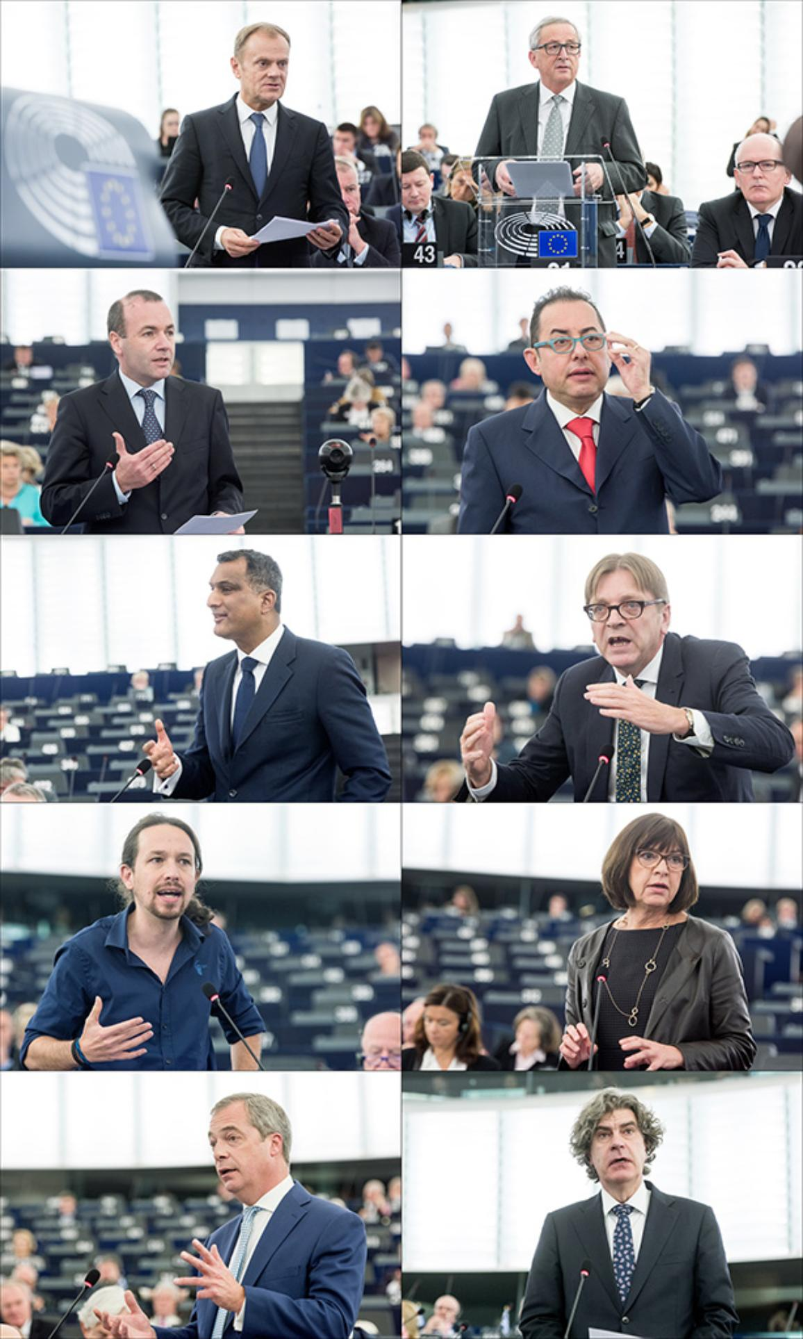 Migration: Debate on Turkey, Balkans, funds and borders with Tusk and Juncker