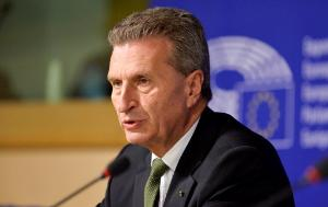Image of Commissioner Oettinger