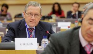 Klaus Regling, Euroopan vakausmekanismin (EVM) johtaja