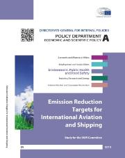 Emission Reduction Targets for International Aviation and Shipping