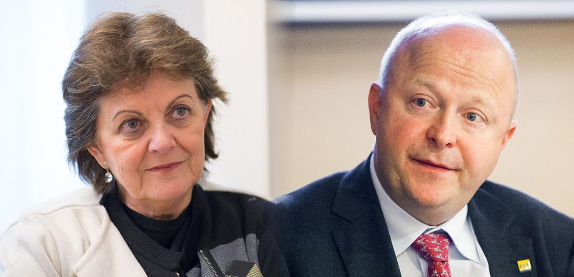 Portraits des deux rapporteurs de la commission TAXE