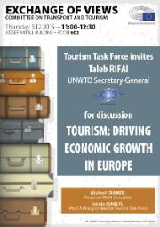 Poster on TRAN discussion with Taleb RIFAI/UNWTO