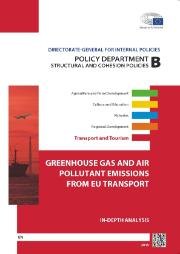 Poster for study on Greenhouse Gas and Air Pollutant Emissions from EU Transport