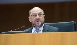 Le Président Martin Schulz ouvre la session plénière de décembre à Bruxelles