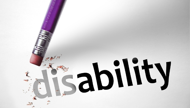 eraser rubbing out dis in the word disability
