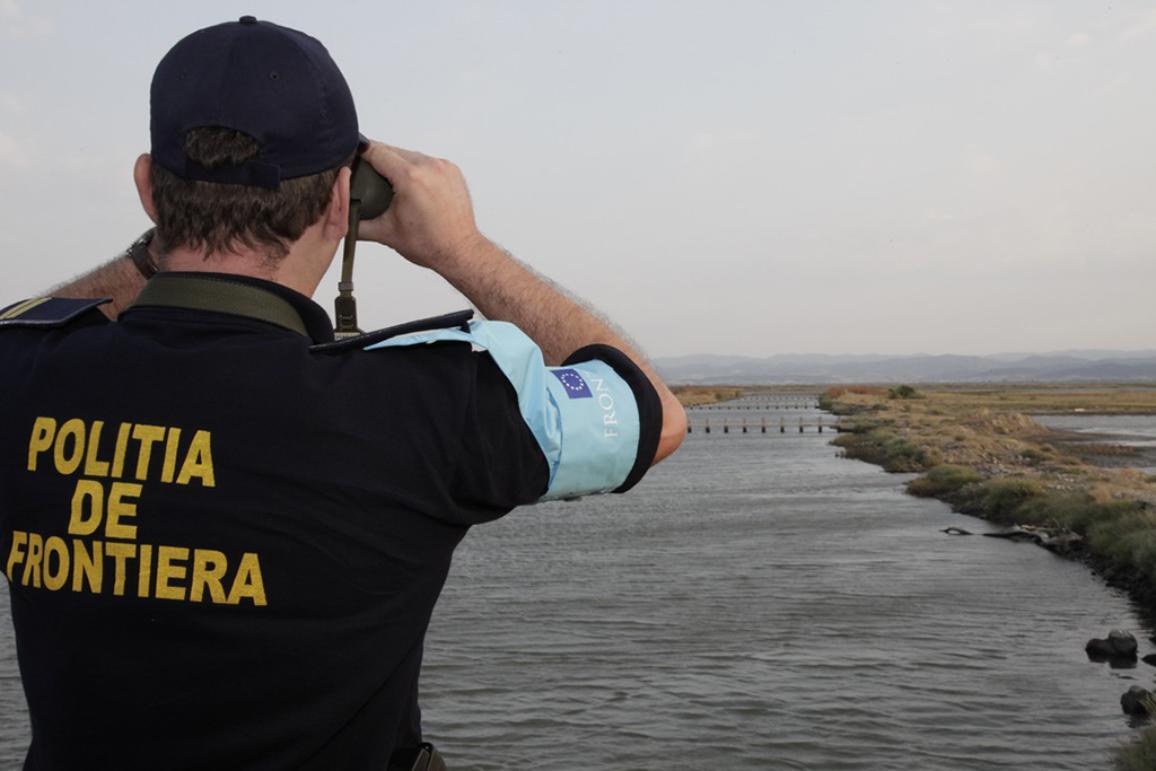 A coast guard in action @European Union 2015
