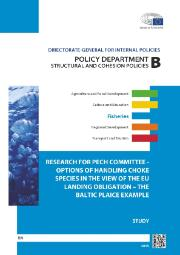 Cover page of Study on Options of Handling Choke Species in the View of the EU Landing Obligation – The Baltic Plaice Example
