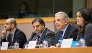 EC Commissioner Avramopoulos in LIBE