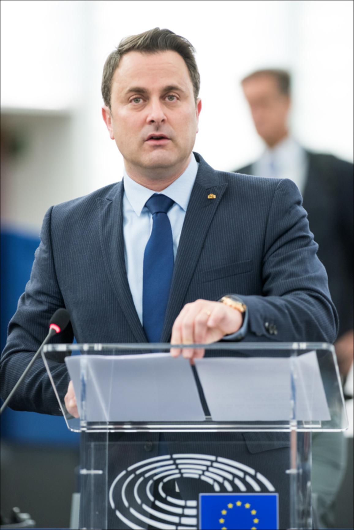 Xavier Bettel - Luxembourg's prime minister