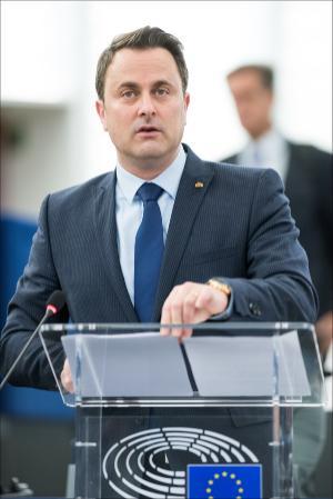 Xavier Bettel, Premier ministre du Luxembourg, tire le bilan de la présidence luxembourgeoise du Conseil face aux députés.