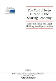 study The Cost of Non-Europe in the Sharing Economy