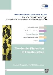 Policy Department C Study: The gender dimension of climate justice