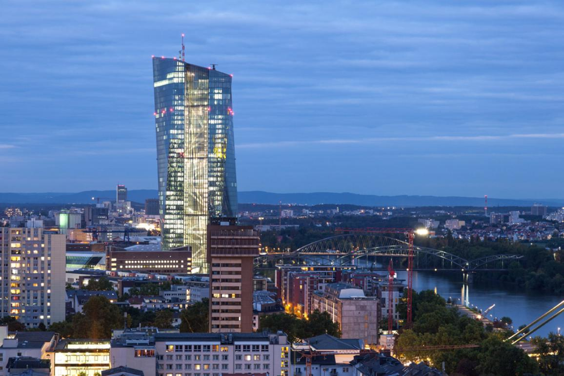 The ECB building in Frankfurt ©AP Images/ European Union-EP