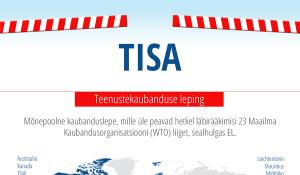 Infograafik: mõnepoolne kaubanduslepe TiSA