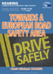 TRAN Hearing on Towards a European Road Safety Area