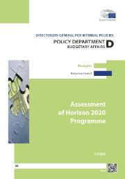 Assessment of Horizon 2020 Programme, Study