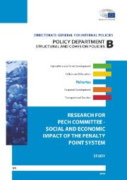 Cover of Study on Social and Economic Impact of the Penalty Point System