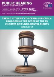 Taking Citizens' concerns seriously: broadening the scope of the EU Charter on Fundamental Rights (Article 51)?