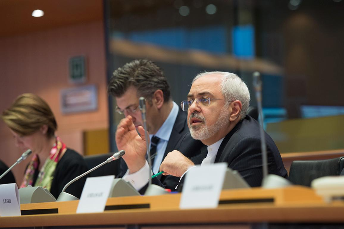 Iran's Foreign Affairs Minister Mohammad Javad Zarif in AFET