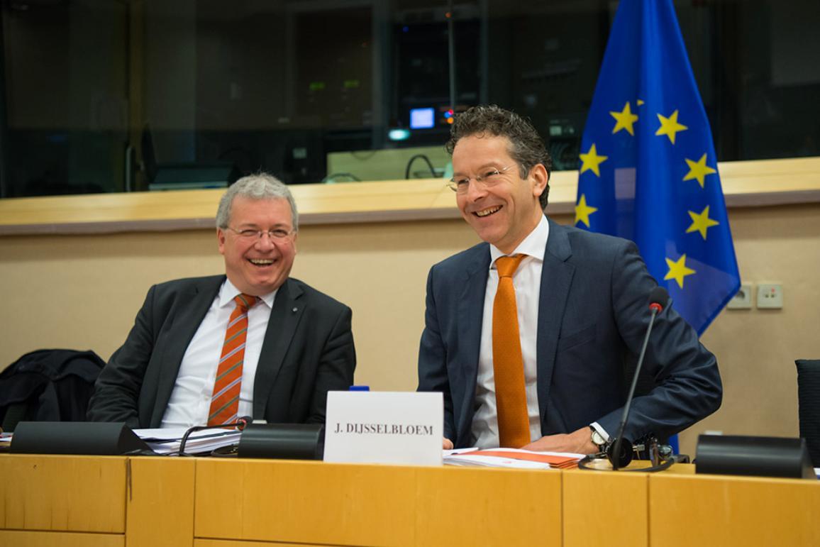 Eurogroup President Jeroen Dijsselbloem in ECON