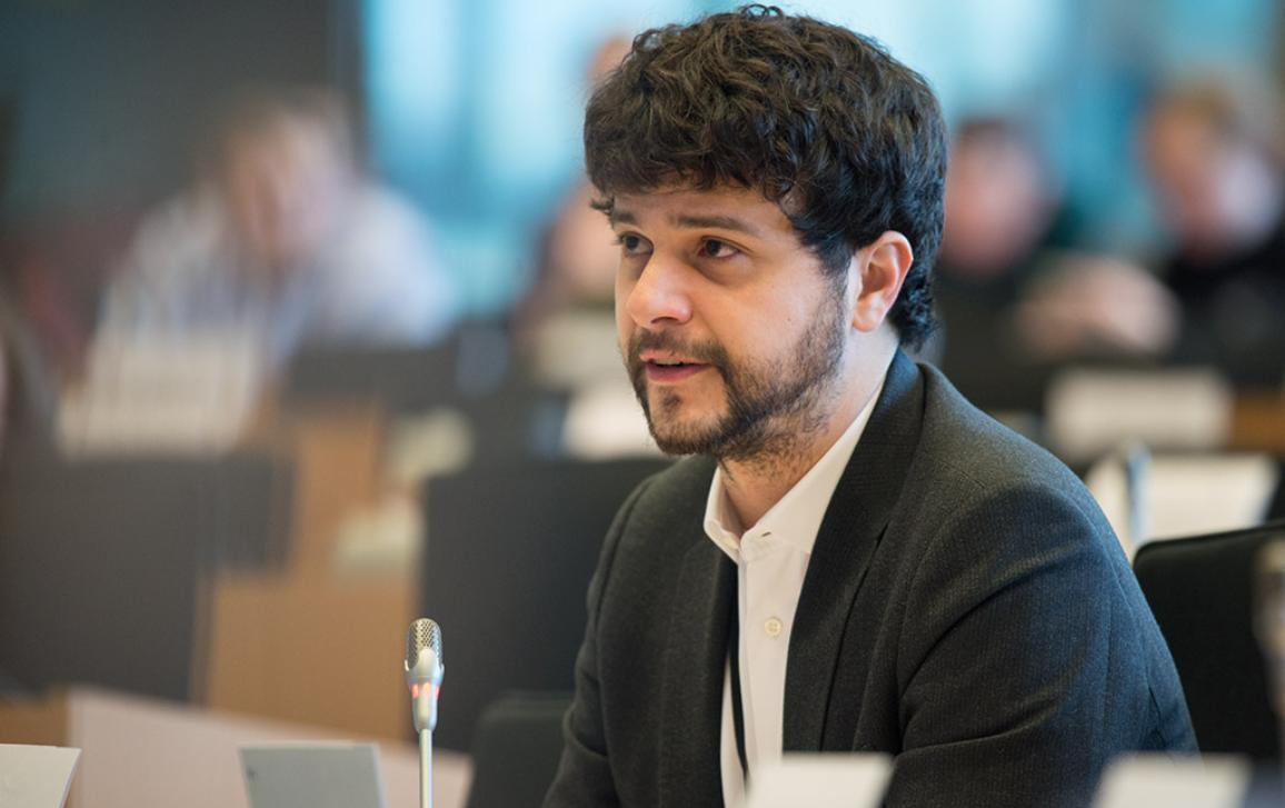 Poseł Brando Benifei (S&D, IT)