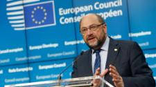 Martin Schulz emerges from long negotiations with a strong message: the deal will be put through its democratic paces in the elected EU Parliament.
