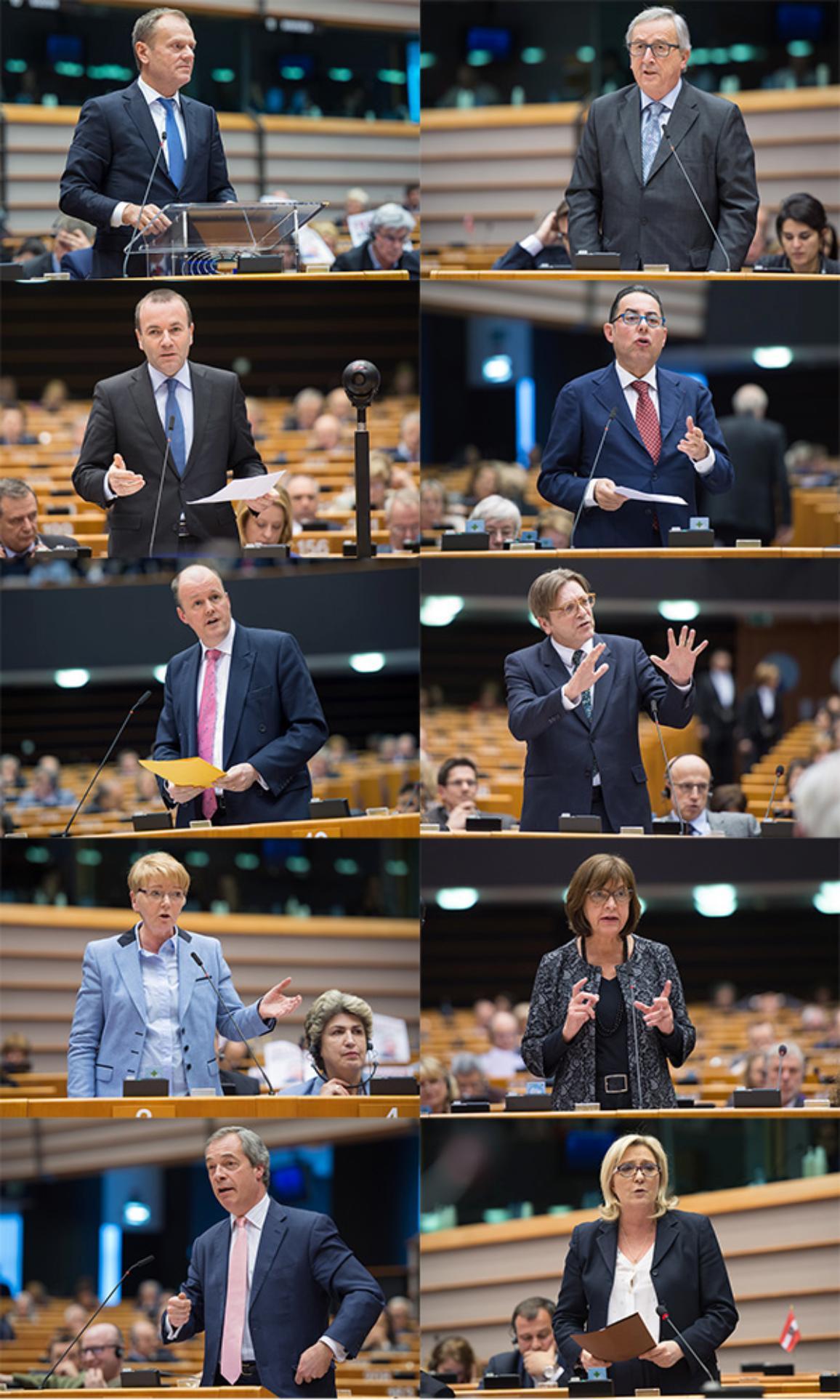 Debate over het akkoord over het lidmaatschap van het  Verenigd Koninkrijk