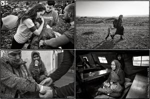 Award-winning French photojournalist Marie Dorigny travelled to Greece, the Former Yugoslav Republic of Macedonia and Germany from December 2015 to January 2016 at the request of the EP seeking to capture on film the plight of women refugees ahead of this year's International Women's Day. © Marie Dorigny / European Union 2015