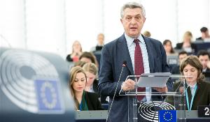 Filippo Grandi, UN High Commissioner for refugees addresses the plenary