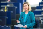 Mogherini briefs MEPs