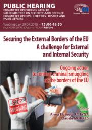 SEDE Public hearing. Securing the external borders of the EU