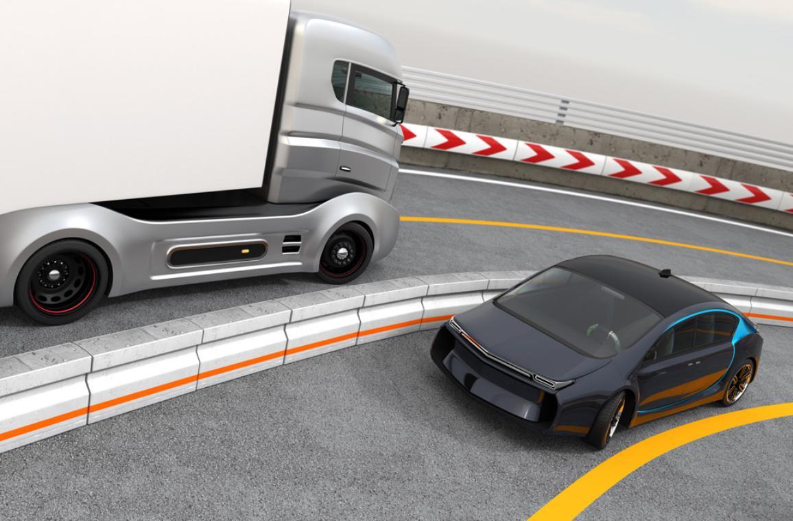 Δύο αυτοκινούμενα οχήματα ©AP Images/ European Union-EP
