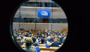 Ouverture de la session plénière d'avril II à Bruxelles