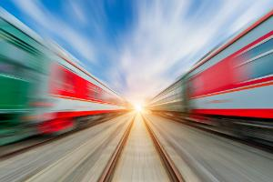 High-speed train ©AP Images/ European Union-EP