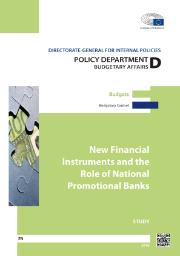 Study: New Financial Instruments and the Role of National Promotional Banks