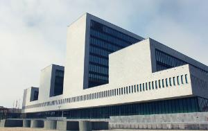 Europol's new Headquarters on Eisenhowerlaan in The Hague