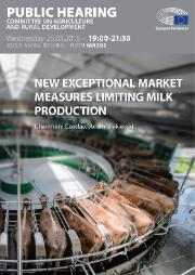 Market measures limiting milk production
