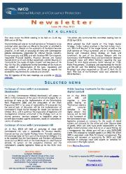 Issue 70 of the IMCO newsletter