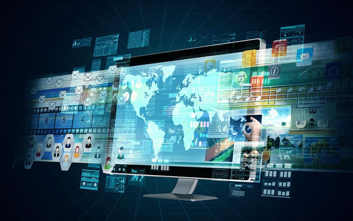 Representación de un servidor multimedia de Internet ©AP Images/Unión Europea.