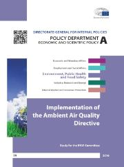 Implementation of the Ambient Air Quality Directive