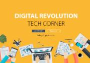 Poster of the Digital revolution Tech corner during the Open Days in Brussels, May 2016