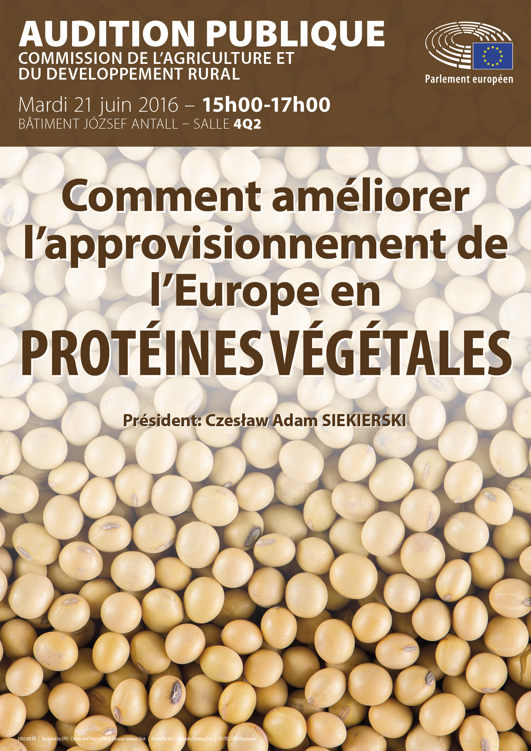 Proteines vegetales audition